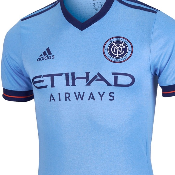 3bed2c7b6ba MLS New York City FC Authentic Jersey. NWT. adidas